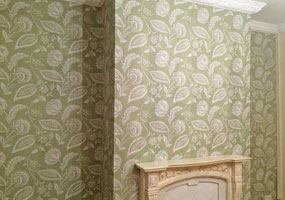 Wallpapering Feature Wall
